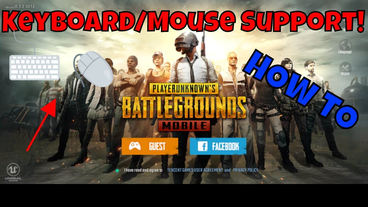 HOW TO SETUP KEYBOARD/MOUSE PUBG MOBILE!