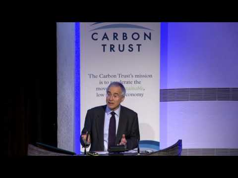Lord Stern on Innovation, Climate & Development - Carbon Trust Annual Lecture 2016