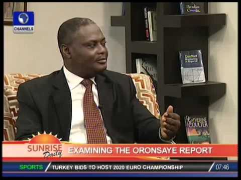 Examining Oronsaye report with Chima Nnaji