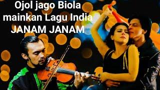 Pejamkan mata dan dengarkan ojol ini sangat menghayati, memainkan lagu india (JANAM JANAM )