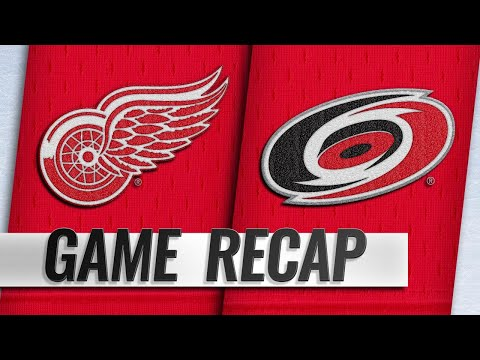 Mantha, Bernier help Red Wings persevere for SO win