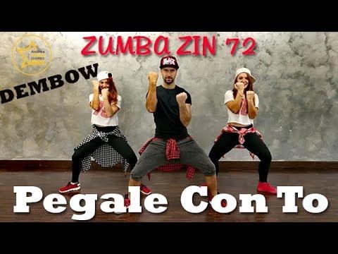 PEGALE CON TO | ZIN 72 ZUMBA | COREOGRAFIA |ANDREA STELLA CHOREO DANCE