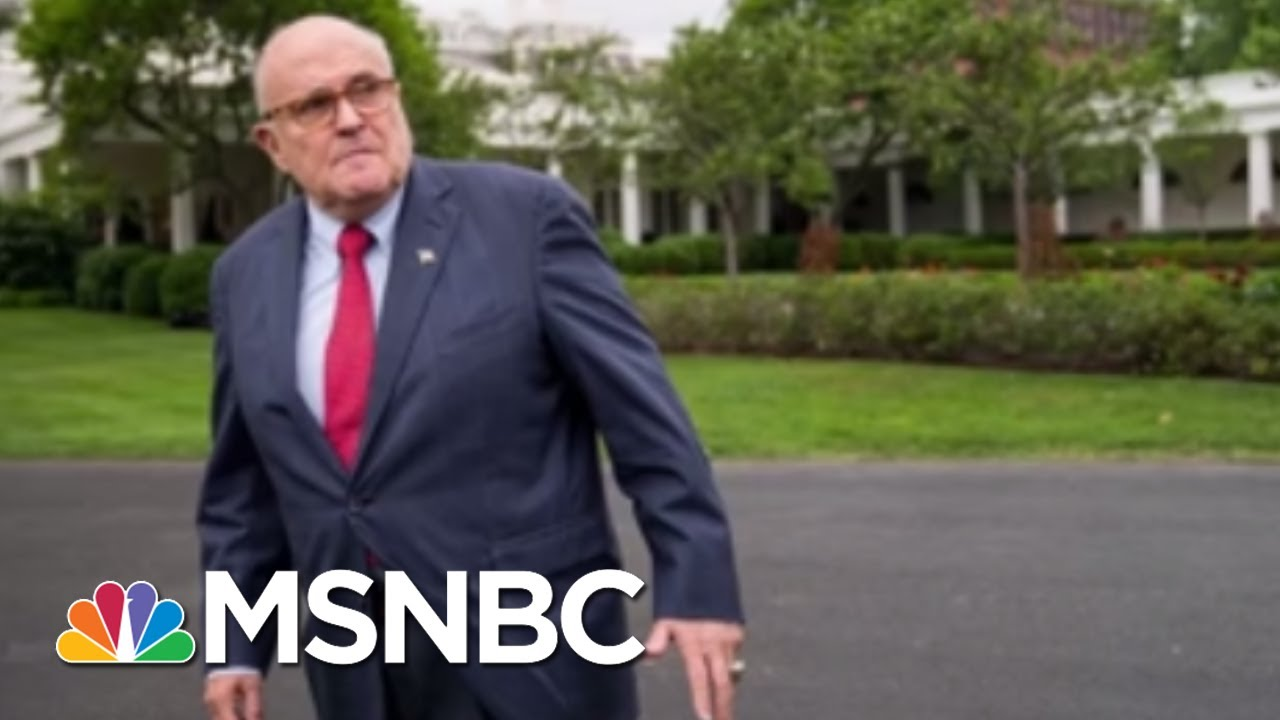 Giuliani: Waiting for Mueller report is 'like waiting for a baby'