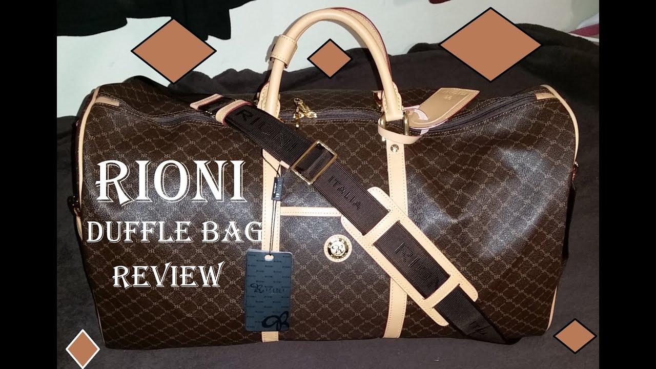 Rioni Duffle Bag Unboxing Traveler