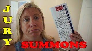 Jury Summons ⚖️