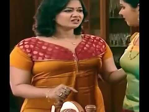 Mallu Serial Actress Saranya Sasi Hot