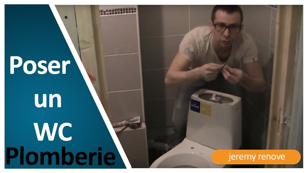 Comment monter et poser un WC? - YouTube