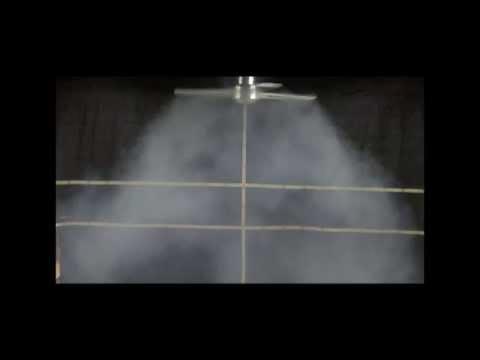 Dynamic Air Diffuser (DAD) smoke test demonstration