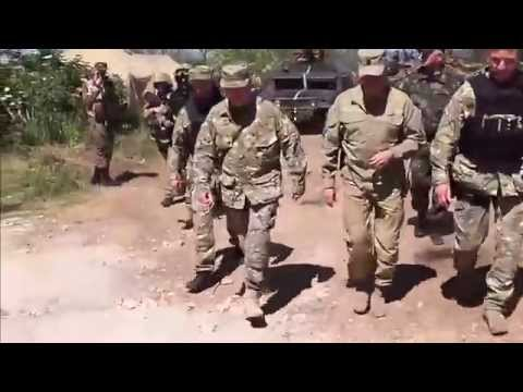 Turchynov Inspects Anti-Terrorist Operation Near Slavyansk. 21.05.2014