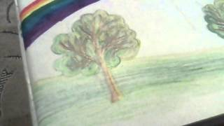 Видео урок как нарисовать правильно поляну