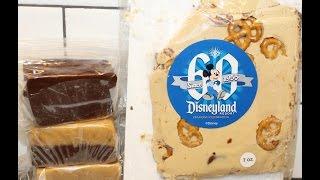 Disneyland Treats: Peanut Butter Pretzel Bark, Rocky Road, Maple Nut & Chocolate Pb Fudge Review