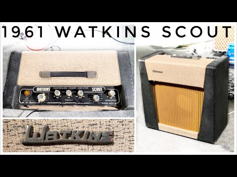 Want EARLY Zeppelin TONE? 1961 Watkins WEM Scout!!!