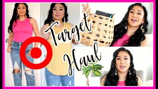 HUGE TARGET HAUL + TRY ON! | Clothes, Home Decor, Food
