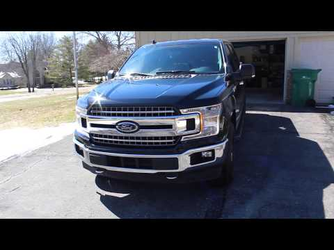 2018 Ford F150 XLT 3.5 Ecoboost Review/First thoughts