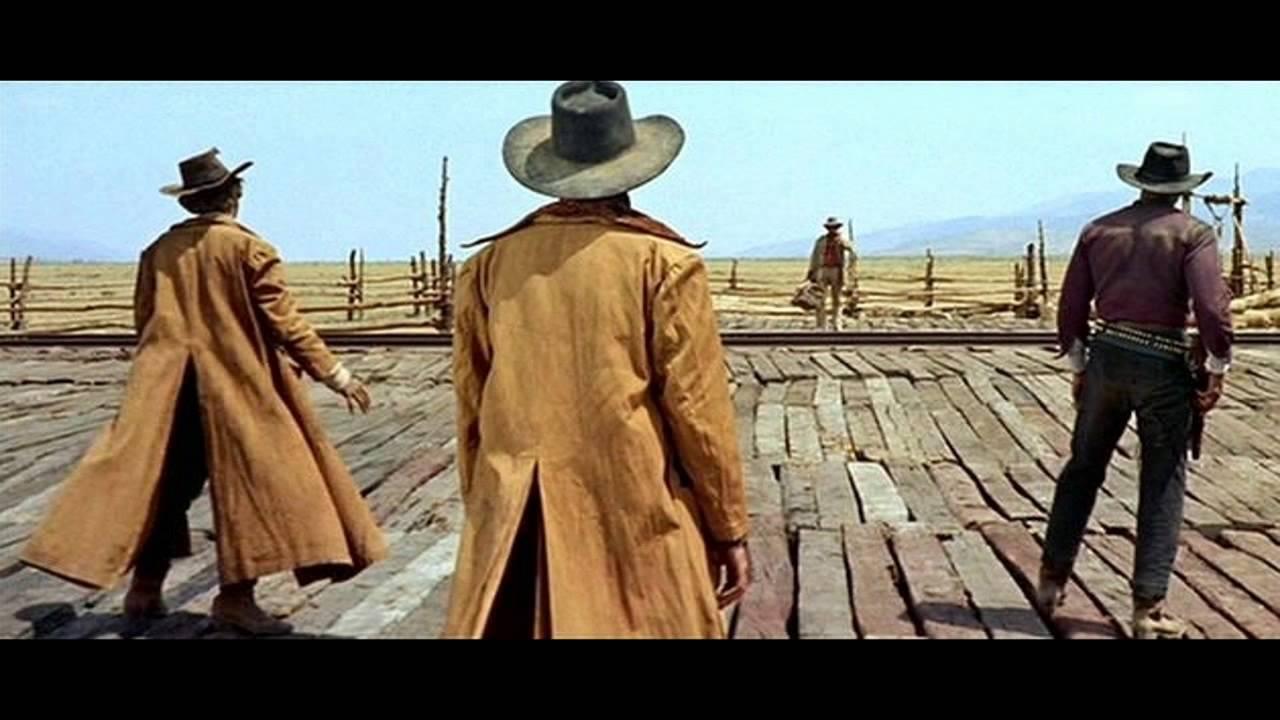 spaguetti western tribute clint eastwood lee van cleef eli