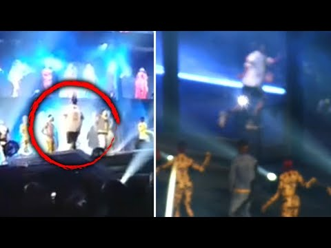 How Did This  Get on Stage With Beyonce and JayZ?