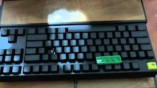 signature plastic abs double shot cherry mx keycaps review