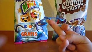 2014 Nestle Poland RIO 2 Movie Toys from Cereal Promo Pack