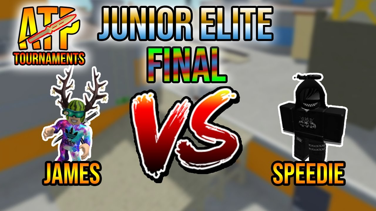 JamesPlayzGames VS Speedie | Junior-Elite Tournament Final (S1) | ATP Tournaments