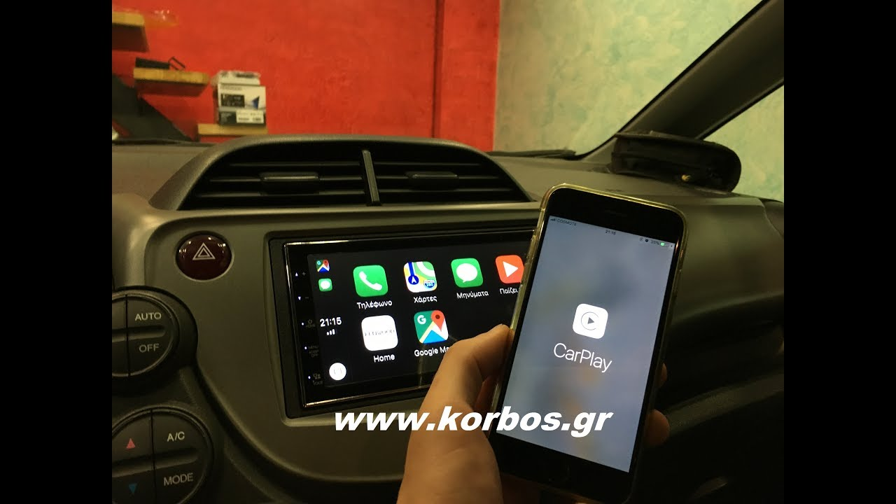 Apple CarPlay Kenwood dmx-7018bts Greek Review www.korbos.gr