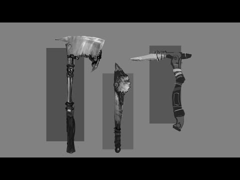 CONCEPT DESIGN: Props, Melee Weapons