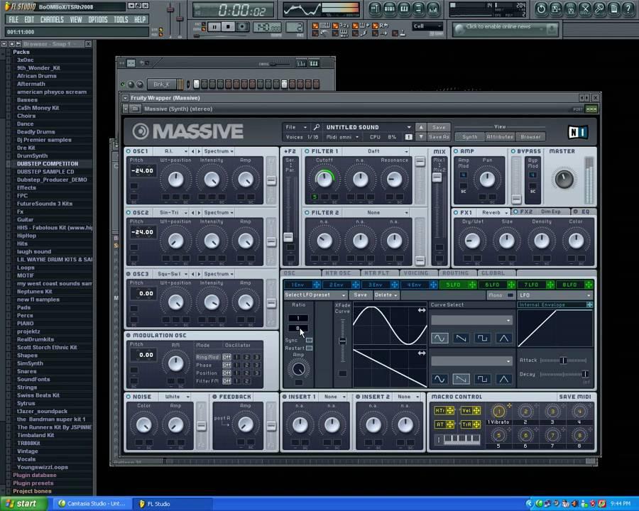 Fl studio massive vst free download | Massive 1 5 5  2019-01-13