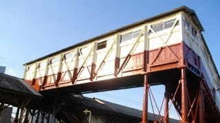 日本最古の跨線橋 JR武豊線 半田駅 The oldest overpass in Japan