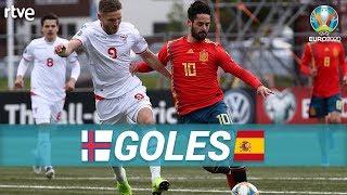 GOLES Islas Feroe 1-4 España | Clasificatorio Eurocopa 2020