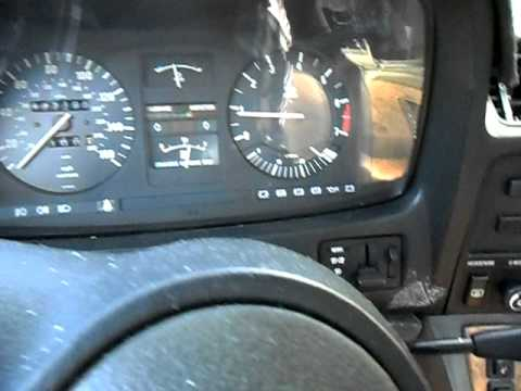 1985 BMW 745i- Quick Start and Drive - YouTube