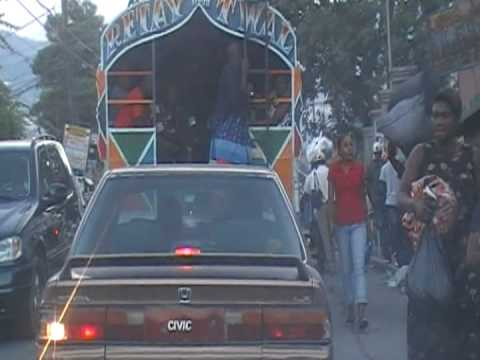 Petion Ville, Haiti December 31 2008