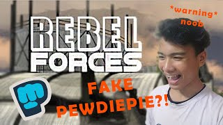 I Found Fake Pewdiepie In This New FPS Game! | Rebel Forces (Gameplay/Commentary)