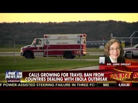 Common Sense Travel Restrictions to Stop Ebola: Dr. Jane Orient