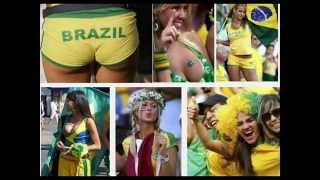 The World cup 2014 Breast Football Babes