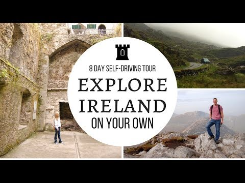 Best Route for an Irish Road Trip!   Our 1st Self-Driven Tour
