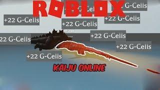 (Roblox Kaiju Online) 3 WAYS TO GET G CELLS FAST! (JULY 27,2019)