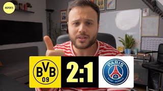 Erling Haaland klärt! Borussia Dortmund vs Paris Saint Germain│Champions League Achtelfinale