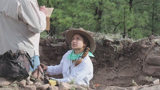 NMSU students participate in Gila Forest archaeological dig