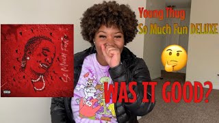 Gambar cover Young Thug- So Much Fun DELUXE Reaction/Review