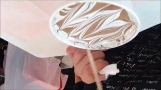 ネイル動画はネイルアート ウォーターマーブル 渋谷区松濤にあるネイル...