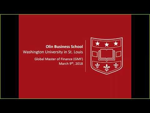 Global Master of Finance Program Overview