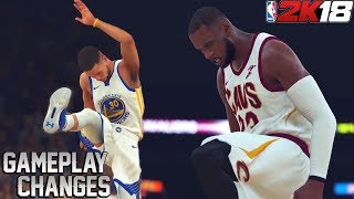 NBA 2K18 Gameplay News! New Layup Packages and Motion Engine!