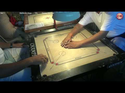LM Set 1 Sanjay Maniyar vs Mehboob Khan Mumbai Suburban District Carrom Organised Mayor Cup