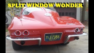 1963 Corvette starts after sitting for 19 years!