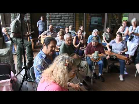Will The Circle Be Unbroken - Oconaluftee Old Time Music Jam - 7/1/2017