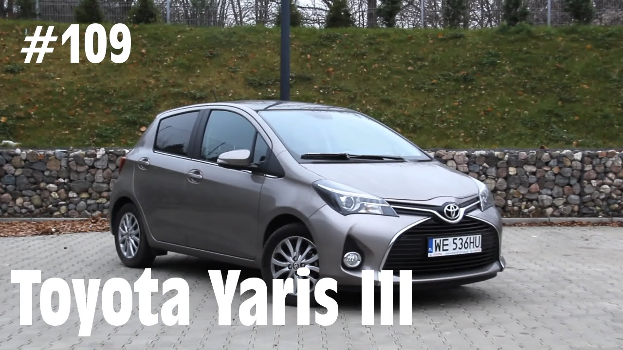 2014 toyota yaris iii vvt i 99 km 109 jazdy pr bne youtube. Black Bedroom Furniture Sets. Home Design Ideas