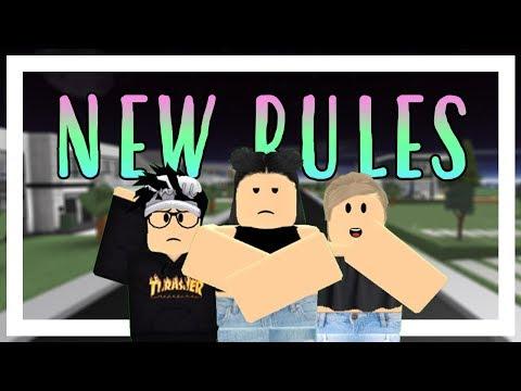 New Rules - Dua Lipa | Roblox Music Video