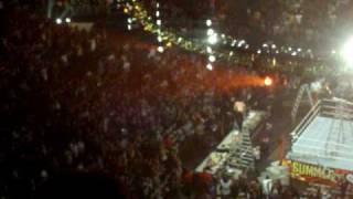 Jeff Hardy Swanton Bomb off Ladder @ WWE Summer Slam 2009