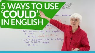 English Grammar: How to use the auxiliary verb