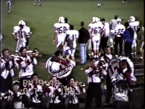 Wayne High School Marching Band Fri Oct 1 1993 away game @ Fairborn after halftime