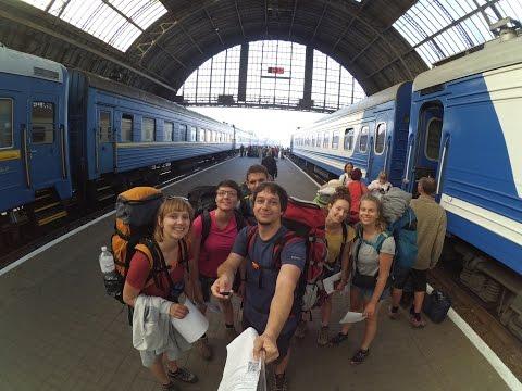 Plecakowanie na Ukrainie. Ukraina wrzesień 2016. Backpacking Ukraine 2016